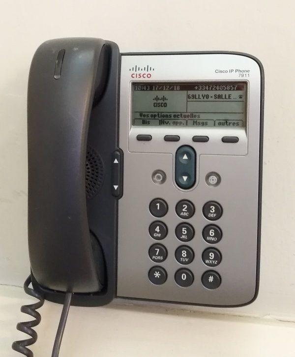 تلفن تحت شبکه سیسکو 7911g