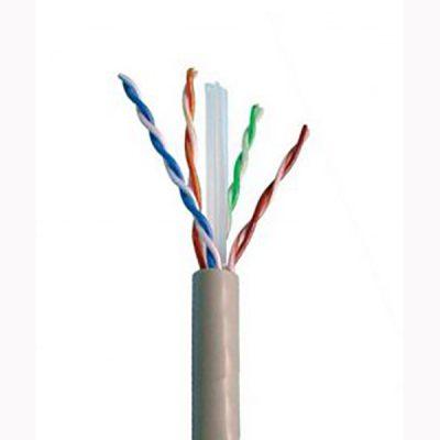 کابل شبکه دی لینک Cat6 UTP بدون شیلد با روکش pvc حلقه 305 و 100 متری
