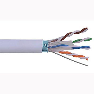 کابل شبکه دی لینک Cat6 SFTP شیلد و فویلدار با روکش pvc حلقه 305
