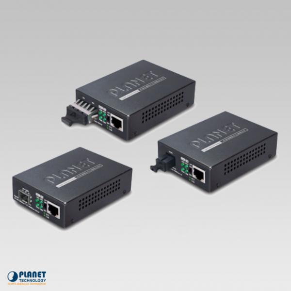 مدیا کانورتور فیبر نوری پلنت GT-802S