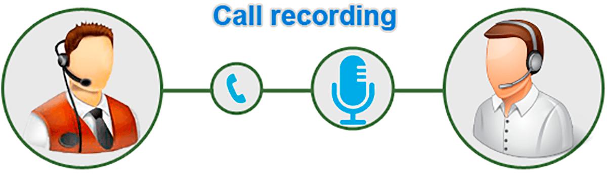 ضبط مکالمات تلفن