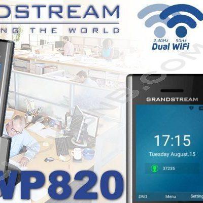 گوشی تحت شبکه بی سیم وای فای گرنداستریم WP820
