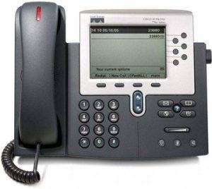 تلفن تحت شبکه سیسکو 7961