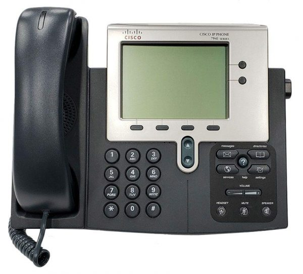 تلفن تحت شبکه سیسکو 7941