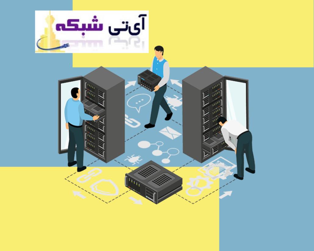 خدمات - پسیو - شبکه - ای - تی - شبکه